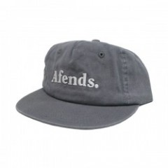 "AFENDS キャップ ""DENSE III CAP"" (Washed Gray)"