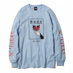 "Deviluse L/STシャツ ""WICKED L/S TEE"" (Light Blue)"