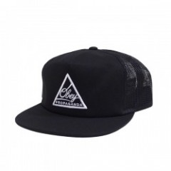 "OBEY メッシュキャップ ""NEW FEDERATION TRUCKER CAP"" (Black)"