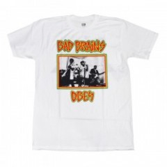 "OBEY Tシャツ ""BAD BRAINS X OBEY TEE"" (White)"