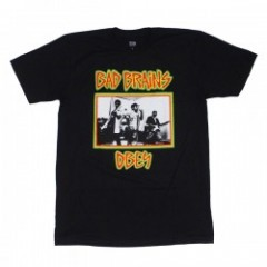 "OBEY Tシャツ ""BAD BRAINS X OBEY TEE"" (Black)"