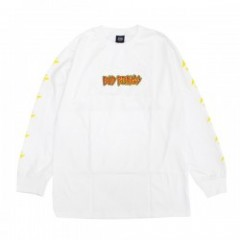 "OBEY ""BAD BRAINS CONQUERING LION L/S TEE"" (White)"