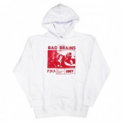 "★30%OFF★ OBEY ""BAD BRAINS PMA PHOTO PARKA"" (White)"