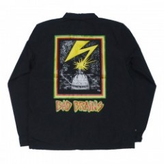 "OBEY コーチジャケット ""BAD BRAINS CAPITOL JACKET"" (Black)"