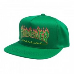 "★30%OFF★ THRASHER ""FLAME LOGO STRUCTURED SNAPBACK"""