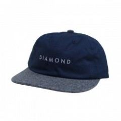 "DIAMOND SUPPLY CO. ""LEEWAY SNAPBACK CAP"" (Navy)"