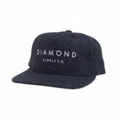 "DIAMOND SUPPLY CO. ""DIAMOND SNAPBACK CAP"" (S.Blk)"