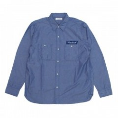 "★20%OFF★ RADIALL ""C-10 L/S SHIRT"" (Blue)"