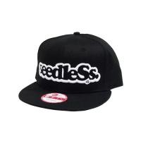 "seedleSs キャップ ""SD NEW ERA SNAP BACK"" (Black/White)"