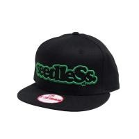 "seedleSs キャップ ""SD NEW ERA SNAP BACK"" (Black/Green)"