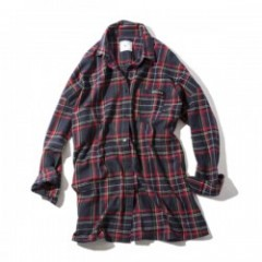 "Deviluse レディースチェックシャツ ""WOMAN CHECK SHIRTS"" Nvy/Red"