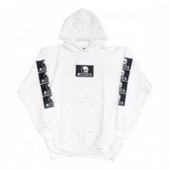 "SKULL SKATES BOXロゴパーカ ""BOX LOGO HOOD SWEAT"" (White"