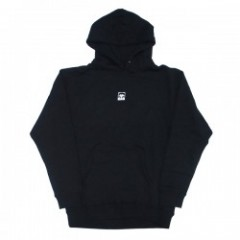 "★30%OFF★ OBEY ""HALF FACE PULLOVER PARKA"" (Black)"