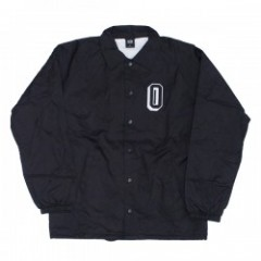 "OBEY コーチジャケット ""OBEY VARSITY COACHES JACKET"" (Blk)"