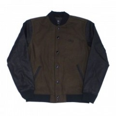 "OBEY ジャケット ""SOTO COLLEGIATE JACKET"" (Dark Army)"