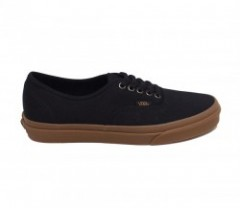 "VANS ""AUTHENTIC"" (LIGHT GUM) Black"
