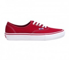 "VANS ""AUTHENTIC PRO"" (Scarlet/White)"