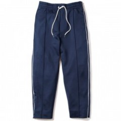 "Deviluse パンツ ""PIPING TRACK PANTS"" (Navy)"