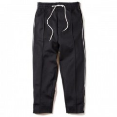 "Deviluse パンツ ""PIPING TRACK PANTS"" (Black)"