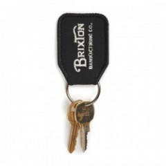 "BRIXTON キーホルダー ""TRIBUTE KEY CHAIN"" (Black/White)"