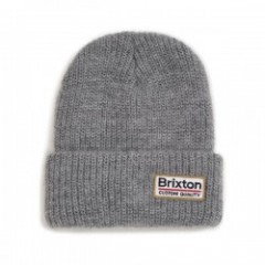 "BRIXTON ビーニー ""PALMER II BEANIE"" (Light Heather Gray)"