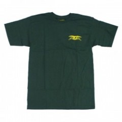 "ANTIHERO Tシャツ ""STOCK EAGLE TEE"" (Forest Green)"