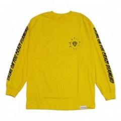 Diamond Supply Co. OUTSHINE LONG SLEEVE TEE Banana