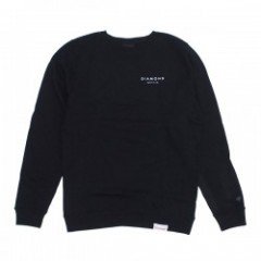 "Diamond Supply Co. ""STONE CUT CREWNECK"" (Black)"