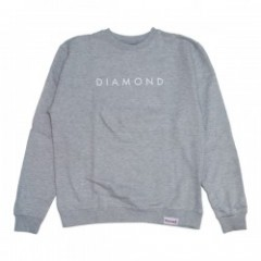 "★30%OFF★Diamond Supply Co. ""FUTURA CREWNECK""H.Gray"