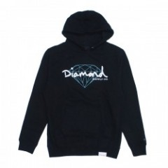 "Diamond Supply Co. ""BRILLIANT SCRIPT HOODIE"" Black"