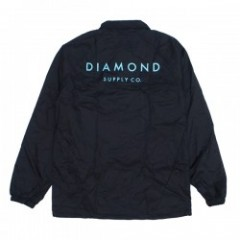"Diamond Supply Co. ""STONE CUT COACHES JACKET"" Blk"
