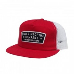 "LOSER MACHINE キャップ ""JONES MESH CAP"" (Red)"