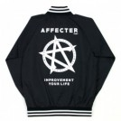 "AFFECTER ジャケット ""STAND UP JACKET"" (Black)"