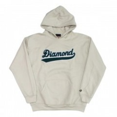 "DIAMOND SUPPLY CO. ""DIAMOND LEAGUE HOODIE"" (Cream)"