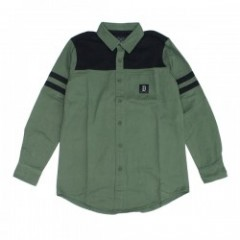"Deviluse L/Sシャツ ""FOOTBALL OX SHIRTS"" (Olive)"