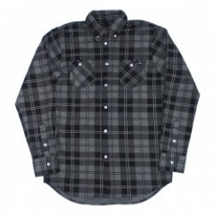 "Deviluse L/Sシャツ ""CHECK SHIRTS"" (Gray)"
