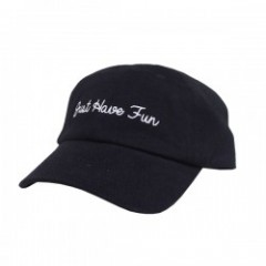 "JHF キャップ ""JHFAMILY DAD HAT"" (Black/White)"
