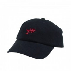 "JHF キャップ ""CLASSIC SKATE DAD HAT"" (Black/Red)"