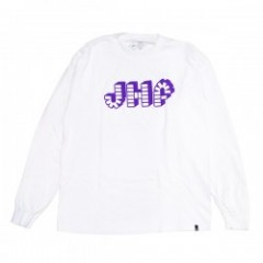 "JHF L/STシャツ ""BRICK BY BRICK L/S TEE"" (White)"