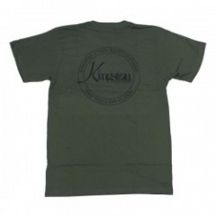 "KINGSTON UNION MFG Tシャツ ""BARSTOW TEE"" (Army Green)"