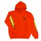 "Deviluse パーカ ""VOLT PULLOVER HOODED"" (Orange)"