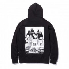 "RADIALL パーカ ""HOLIDAY HOODIE SWEATSHIRT L/S"" (Black)"