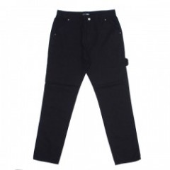 "Deviluse デニム ""BLACK CARPENTER PANTS"" (Black Denim)"