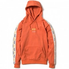 "Deviluse パーカ ""LINE PULLOVER HOODED"" (Orange)"