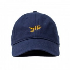 "JHF キャップ ""CLASSIC SKATE DAD HAT"" (Navy/Yellow)"