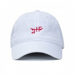 "JHF キャップ ""CLASSIC SKATE DAD HAT"" (White/Red)"