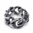 "【10〜11月入荷予定】 CRIMIE リング ""CR CHAIN RING"" (Silver)"