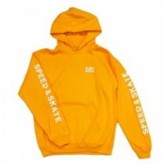 "LOSER MACHINE パーカ ""AUTHORITY PULLOVER HOOD"" (Gold)"