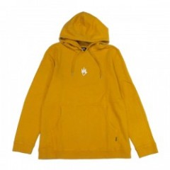 "AFENDS パーカ ""FLAME PULLOVER HOOD"" (Mustard)"