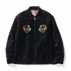 "RADIALL ジャケット ""PEAFOWL SOUVENIR JACKET"" (Black)"